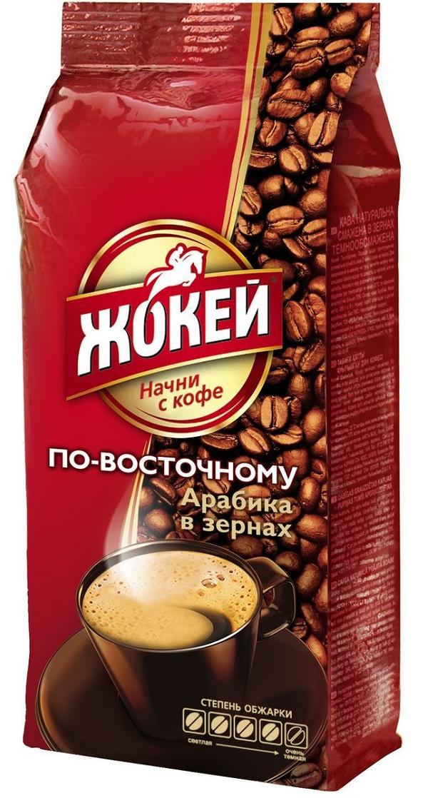 Кофе ЖОКЕЙ По-восточному 10 влож жареный зерно м/у